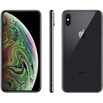 Apple iPhone Xs Max, 64GB, Space Gray - For Sprint (Renewed)