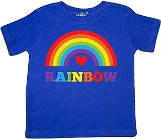 Heart Rainbow Toddler T-Shirt d002