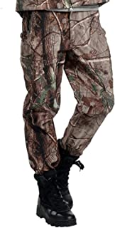 Tactical Waterproof Soft Shell Pants Men Winter Windproof Warm Camouflage Fleece Military Trousers Army Hunt Camouflage Pants