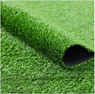 YNFNGX Artificial Turf 15mm Pile High Density Simulation Lawn Mat Suitable For Outdoor Indoor Wall Decoration Artificial P...