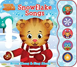 Snowflake Songs: Daniel Tiger's Neighborhood (Early Bird Sound Book 5 Button)