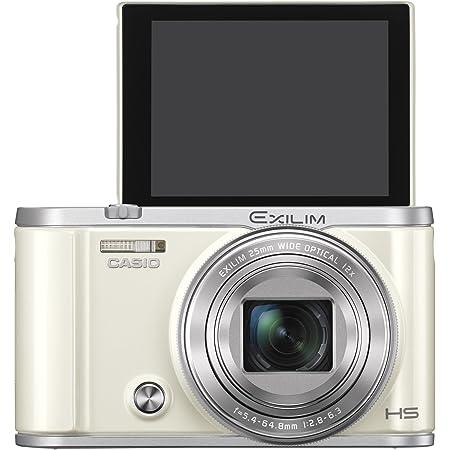 CASIO デジタルカメラ EXILIM EX-ZR3200WE 自分撮り・みんな撮りが簡単 スマホへ自動転送