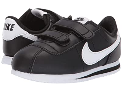 Nike Kids Cortez Basic SL (Infant/Toddler) (Black/White) Boys Shoes