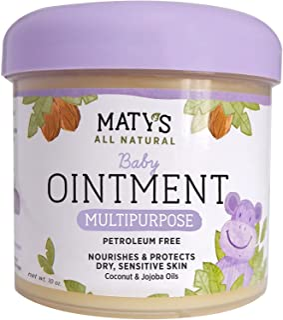 پماد کودک Maty's All Natural 10 اونس. چند منظوره بدون نفت