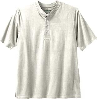 Boulder Creek Men's Big & Tall Heavyweight Short-Sleeve Henley Shirt