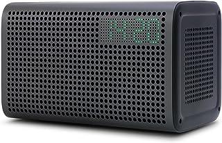 XtremeMac GGMM E3 (Wireless Bluetooth + Wi-Fi Speaker with clock) Gray ES-201-6, clear