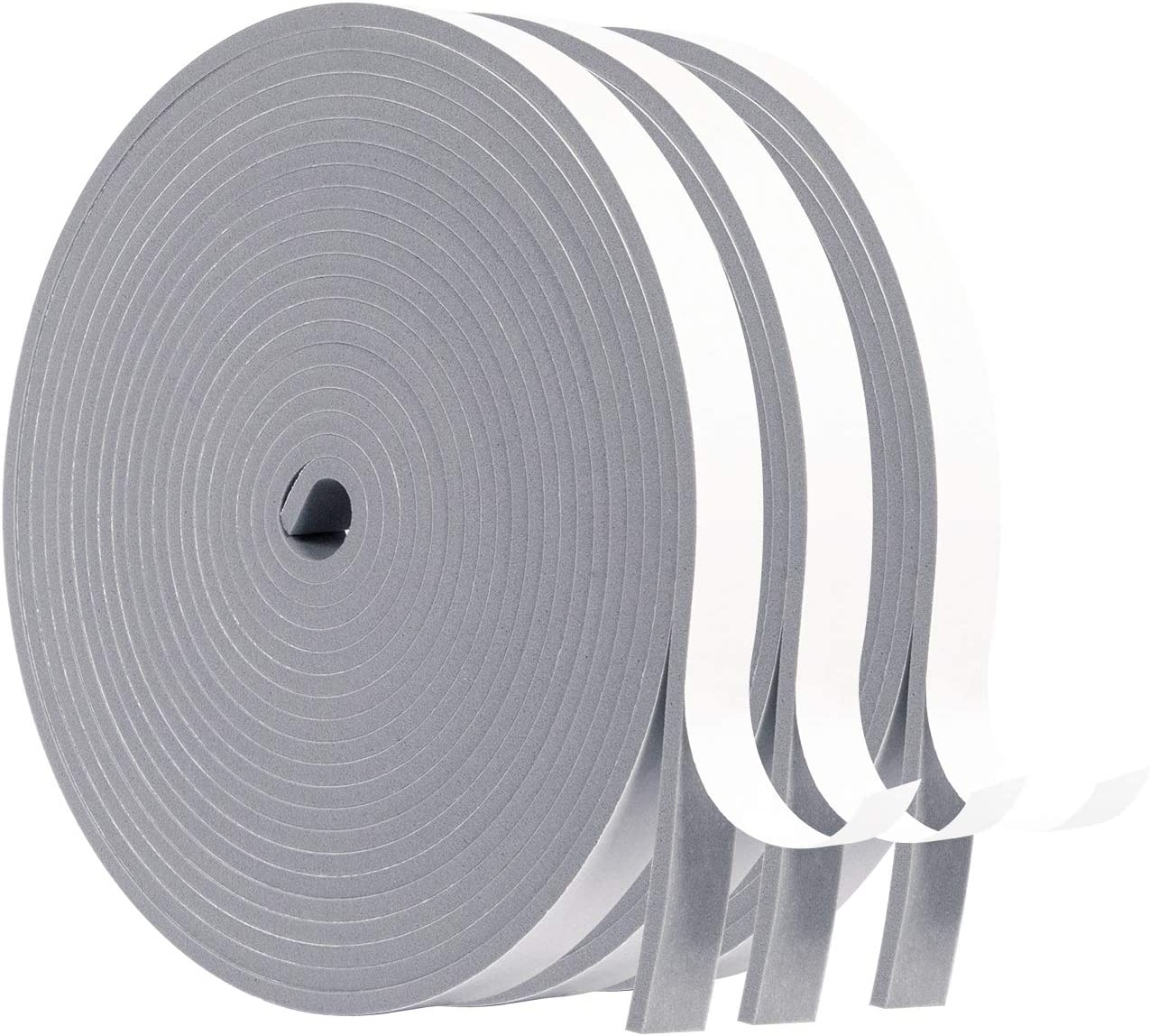 MAGZO Foam Tape Outlet Max 81% OFF sale feature 1 2x1 8 Window Seal Stripping Ins Weather Inches