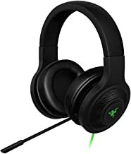Razer Kraken USB - Black Noise Isolating Over-Ear Gaming Headset with Mic - Compatible with PC & Playstation 4