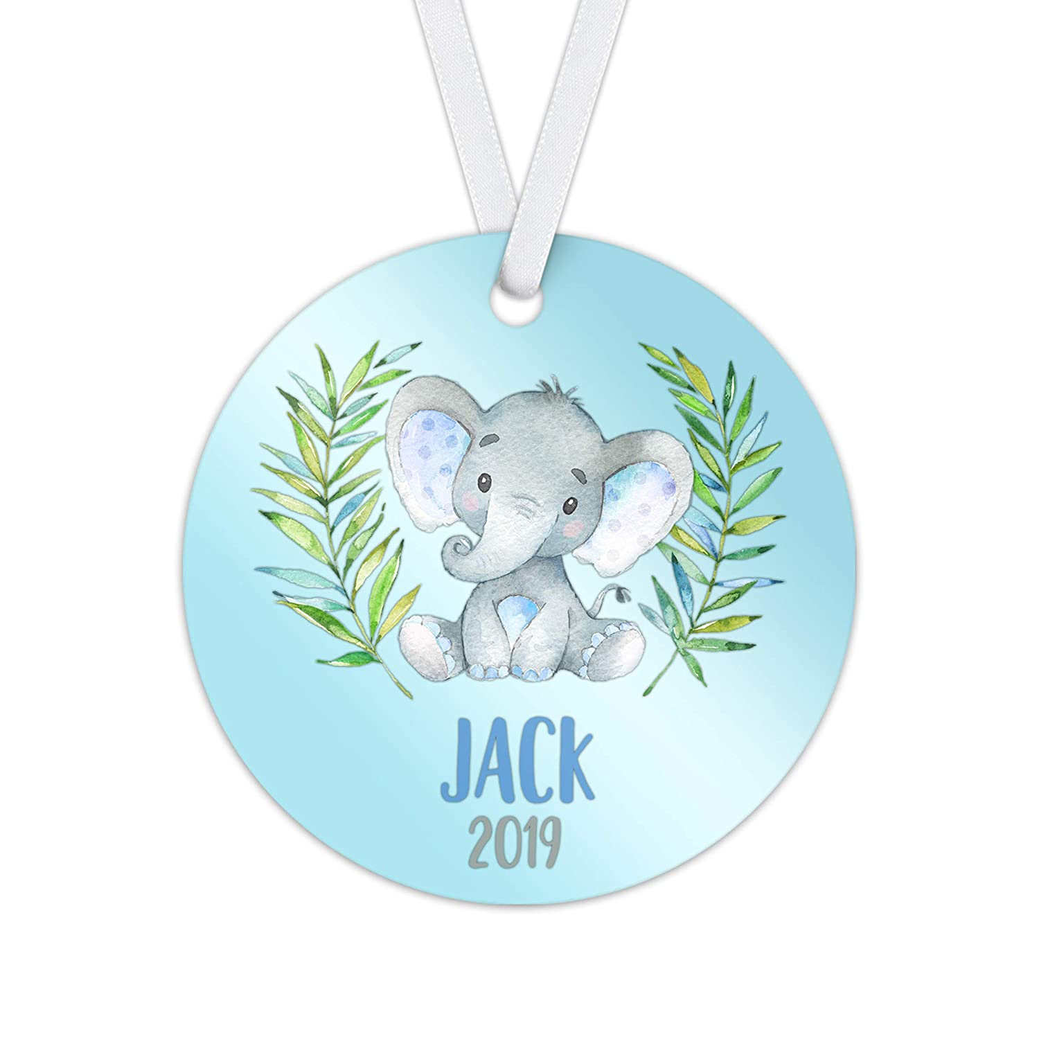 Kid's Christmas Baby Elephant Ornament 2021 - Newborn 5% OFF online shopping My I First