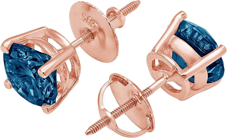 Clara Pucci 3.0 ct Brilliant Round VVS1 National Deluxe products Cut Fine Natur Solitaire