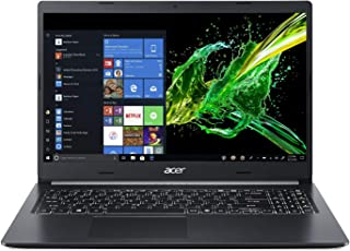 "Acer Aspire 5 Slim Laptop - visualización IPS de 15,6"" (Full HD, 8ª generación Intel Core), Gráficos NVIDIA MX250, Negro, 15-15.99 Inches"