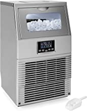 Best Choice Products 66lb/24hr Automatic Portable Freestanding Ice Maker Machine for Home, Office, Restaurants w/LCD Digital Indicator, Auto-Control and Clean, Ice Scoop, Stainless-Steel