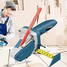 VSTAR66 Dispositivo de corte de tablero de yeso, herramienta de corte de paneles de yeso con cuchillo de utilidad y cinta métrica, herramienta de corte manual para yeso, espuma, cartón