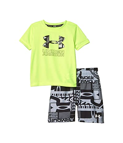 Under Armour Kids Delayed Volley Set (Little Kids/Big Kids) (X-Ray) Boy