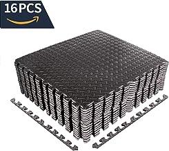 CCLIFE 60×60 30×30 Bodenschutzmatte Schutzmatte Fitness Unterlegmatten..