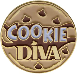 Cookie Diva Hat or Lapel Pin AVAckied