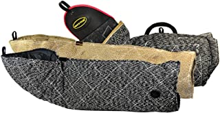 Dean & Tyler 3-Piece Pro Bundle Set, Includes Bite Sleeve/French and Jute Full Arm Bite Sleeve for Training Intermediate Dogs