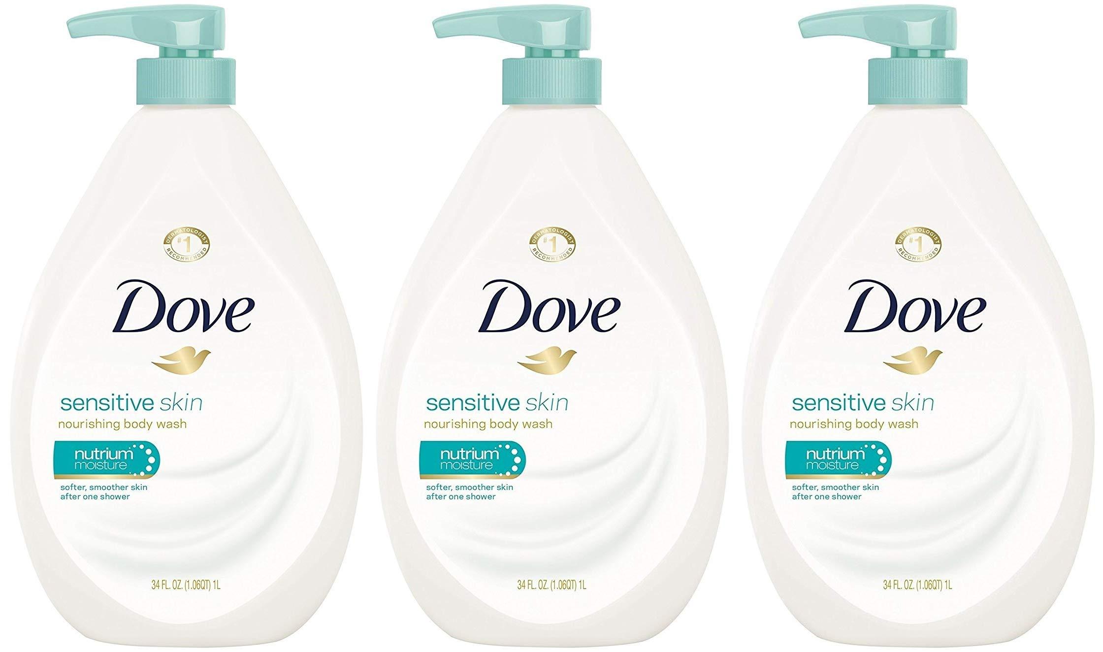 Dove Body Wash Sensitive Skin Pump 34 Buy Online In Aruba At Desertcart