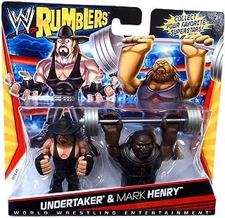 WWE Rumblers Undertaker And Mark Henry Figure 2-Packs