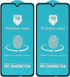 شاشة حماية نانو بوليمر لموبايل شاومي ريلمي C2 2020 من دراجون، قطعتين - اسود