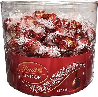 Caja con 96 Bombones Lindor Chocolate Leche. Lindt