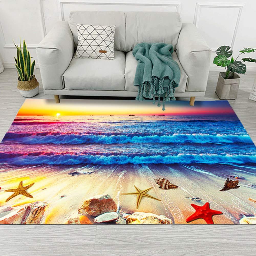 Alfombrillas y alfombras de jardín de impresión Creativa en 3D Alfombras y alfombras para Dormitorio Sala de Estar Alfombra Cocina Baño Alfombras Antideslizantes 140X200CM: Amazon.es: Hogar
