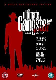 American Gangster / Carlito`s Way / Casino / Public Enemies / Scarface [DVD] [1983]