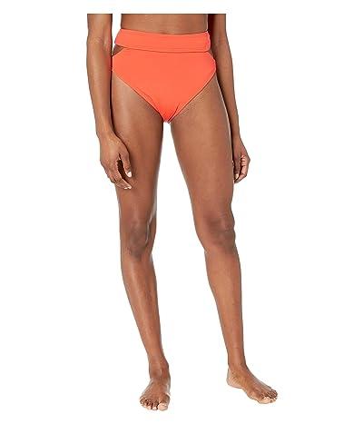 Vince Camuto Surf Shades High-Waist Cut Out Bikini Bottoms (Koi) Women