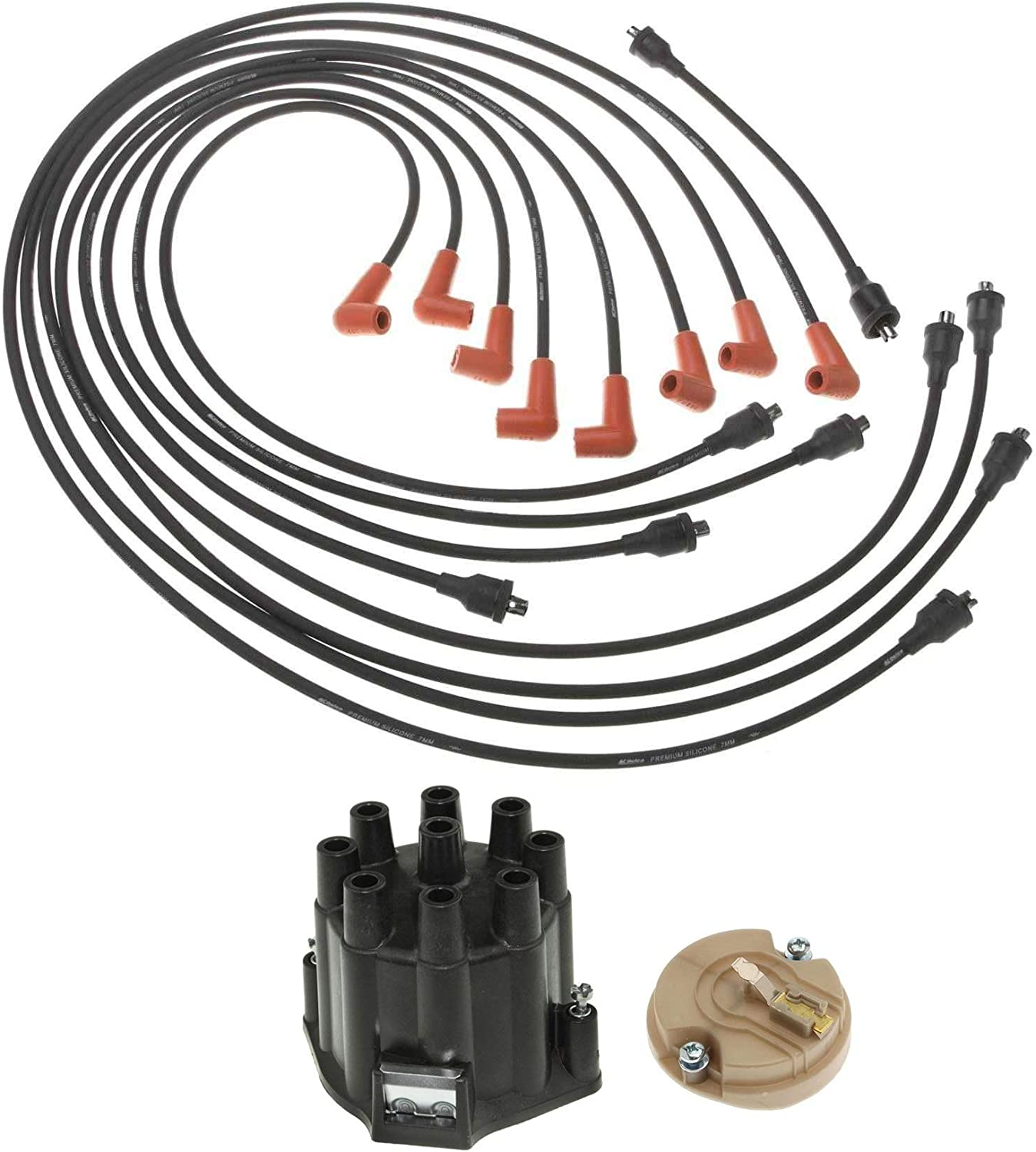 Professional Distributor Rotor Max 47% OFF Cap Wires Biscayne Jimm Kit safety for