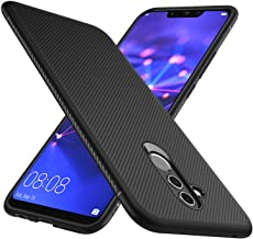 iBetter Huawei Mate 20 Lite Cover, Huawei Mate 20 Lite Custodia, Huawei Mate 20 Lite Protettiva Cover Protezione Durevole, Compatibilita esatta per la Huawei Mate 20 Lite Smartphone.(Nero)