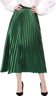 Best green accordion skirt Reviews