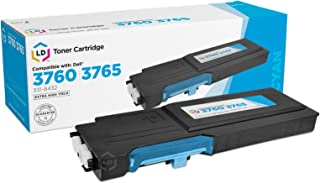 LD Compatible Toner to Replace Dell 331-8432 (1M4KP) Extra High Yield Cyan Toner Cartridge for Dell C3760 and C3765 Laser Printers