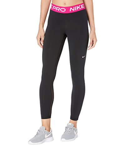 Nike Pro Tights (Black/Fireberry/White) Women