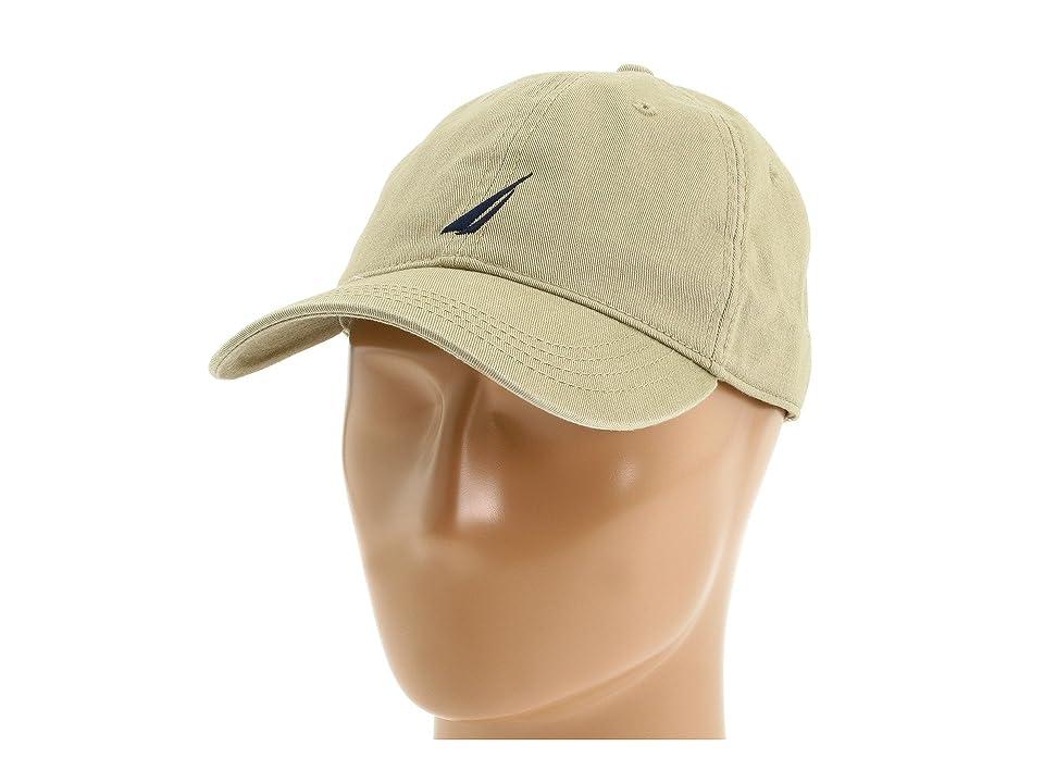 Nautica Chino Twill J-Class Cap (Khaki) Caps