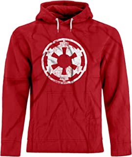 BSW Men's Star Wars Imperial Crest Empire Logo Sith Lord Premium Hoodie