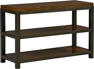"Standard Furniture Mackenzie Console Table, 48""W x 18""D x 30""H, Brown"