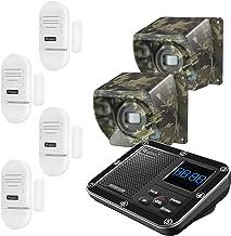 Door Window Alarm for Home, Driveway Alarm Alert, Multifunctional 7 Piece Wireless Home Security System, Rechargeable Batt...