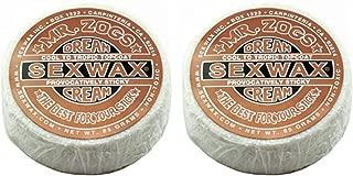 SexWax Dream Cream Surf Wax Mr Zogs Surfboard/Bronze Twin Pack