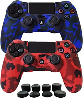 Hikfly Silicone Gel Controller Cover Skin Protector Compatible for Sony Playstation 4..