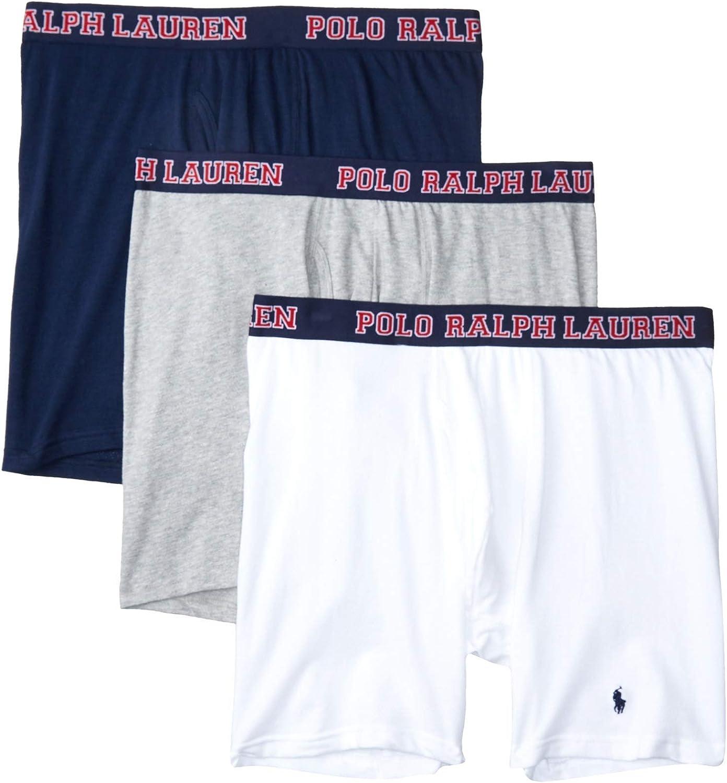 Polo Ralph Lauren 4D-Flex Breathable Mesh Boxer Brief 3-Pack