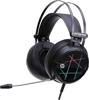 HP Auriculares de diadema para juegos Xbox One para PC, MAC/PS4/Xbox One Auriculares estéreo con cable para PC Gaming con micrófono ajustable