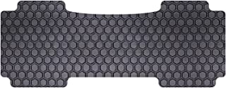 Intro-Tech MZ-201-RT-B Hexomat Second Row 1 pc. Custom Fit Auto Floor Mat for Select Mazda CX-9 Models - Rubber-Like Compound, Black
