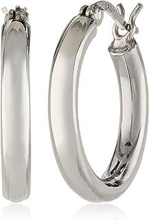 Sterling Silver 3mm Hoop Earrings (0.7
