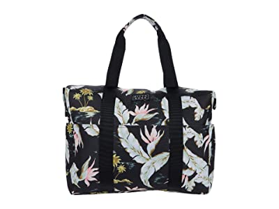 Billabong Totes Tote Bag (Black/Mint) Handbags