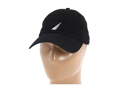 Nautica Chino Twill J-Class Cap (New Black) Caps