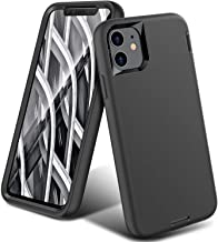 ORIbox Liquid Silicone Case for iPhone 11 Pro Max, Shockproof Anti-Fall Protective case, Soft-Touch Finish of The Liquid Silicone Exterior Feels, Black