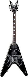 Dean Eric Peterson Signature V Guitar, Old Skull with Case