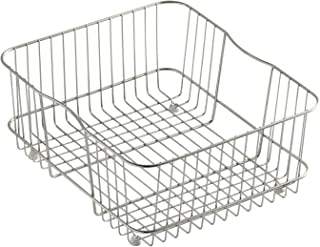 KOHLER K-3277-ST Coated Wire Rinse Basket, Stainless Steel