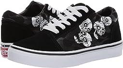 (Glossy Flame) Skulls/Black