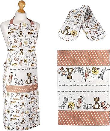 eb1ce8d17 Amazon.es: guantes para hornos - Delantales / Textiles de cocina ...